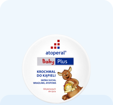 Atoperal® Baby Plus Krochmal do kąpieli